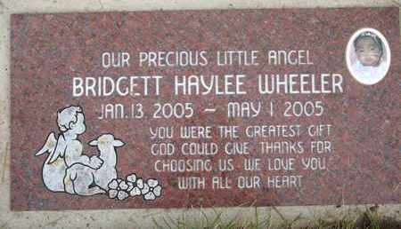 WHEELER, BRIDGETT HAYLEE - Coconino County, Arizona | BRIDGETT HAYLEE WHEELER - Arizona Gravestone Photos