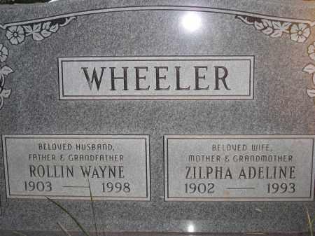 WHEELER, ZILPHA ADELINE - Coconino County, Arizona | ZILPHA ADELINE WHEELER - Arizona Gravestone Photos