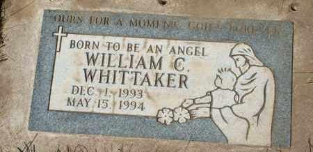 WHITTAKER, WILLIAM C. - Coconino County, Arizona | WILLIAM C. WHITTAKER - Arizona Gravestone Photos