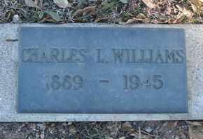 WILLIAMS, CHARLES L. - Coconino County, Arizona | CHARLES L. WILLIAMS - Arizona Gravestone Photos