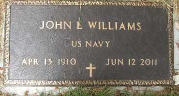 WILLIAMS, JOHN L. - Coconino County, Arizona | JOHN L. WILLIAMS - Arizona Gravestone Photos