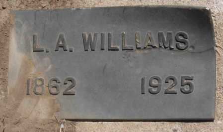 WILLIAMS, L. A. - Coconino County, Arizona | L. A. WILLIAMS - Arizona Gravestone Photos