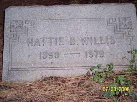 WILLIS, HATTIE B. - Coconino County, Arizona | HATTIE B. WILLIS - Arizona Gravestone Photos