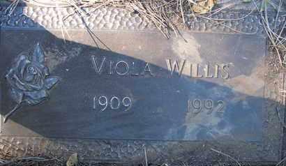 WILLIS, VIOLA - Coconino County, Arizona   VIOLA WILLIS - Arizona Gravestone Photos