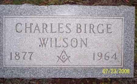 WILSON, CHARLES BIRGE - Coconino County, Arizona | CHARLES BIRGE WILSON - Arizona Gravestone Photos