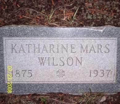 MARS WILSON, KATHARINE - Coconino County, Arizona | KATHARINE MARS WILSON - Arizona Gravestone Photos