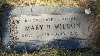 WILSON, MARY R. - Coconino County, Arizona | MARY R. WILSON - Arizona Gravestone Photos
