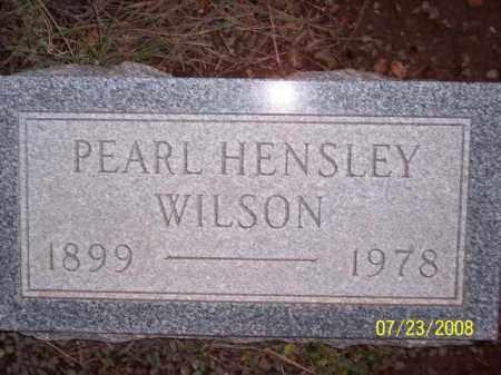 WILSON, PEARL - Coconino County, Arizona | PEARL WILSON - Arizona Gravestone Photos
