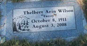 WILSON, THELBERT ARIN - Coconino County, Arizona | THELBERT ARIN WILSON - Arizona Gravestone Photos