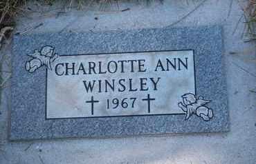 WINSLEY, CHARLOTTE ANN - Coconino County, Arizona | CHARLOTTE ANN WINSLEY - Arizona Gravestone Photos