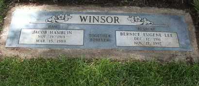 WINSOR, JACOB HAMBLIN - Coconino County, Arizona | JACOB HAMBLIN WINSOR - Arizona Gravestone Photos