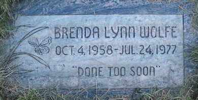 WOLFE, BRENDA LYNN - Coconino County, Arizona | BRENDA LYNN WOLFE - Arizona Gravestone Photos