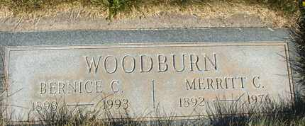 WOODBURN, MERRITT C. - Coconino County, Arizona | MERRITT C. WOODBURN - Arizona Gravestone Photos