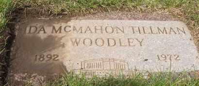 MCMAHON TILLMAN WOODLEY, IDA - Coconino County, Arizona | IDA MCMAHON TILLMAN WOODLEY - Arizona Gravestone Photos