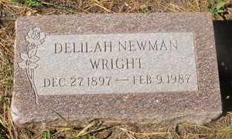WRIGHT, DELILAH - Coconino County, Arizona | DELILAH WRIGHT - Arizona Gravestone Photos