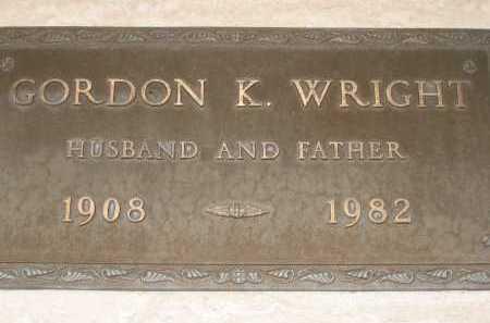 WRIGHT, GORDON K. - Coconino County, Arizona | GORDON K. WRIGHT - Arizona Gravestone Photos