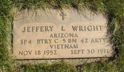 WRIGHT, JEFFERY L. - Coconino County, Arizona | JEFFERY L. WRIGHT - Arizona Gravestone Photos