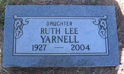 YARNELL, RUTH LEE - Coconino County, Arizona | RUTH LEE YARNELL - Arizona Gravestone Photos