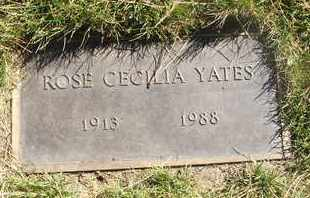 YATES, ROSE CECILIA - Coconino County, Arizona | ROSE CECILIA YATES - Arizona Gravestone Photos