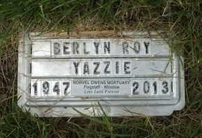 YAZZIE, BERLYN ROY - Coconino County, Arizona | BERLYN ROY YAZZIE - Arizona Gravestone Photos