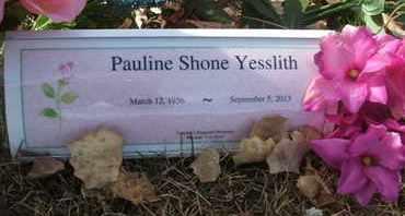 YESSLITH, PAULINE SHONE - Coconino County, Arizona | PAULINE SHONE YESSLITH - Arizona Gravestone Photos