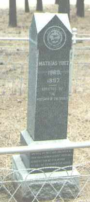 YOST, MATHIAS - Coconino County, Arizona | MATHIAS YOST - Arizona Gravestone Photos