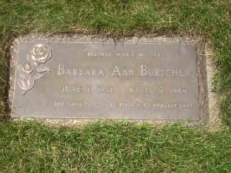 EVANS BURTCHER, BARBARA - Coconino County, Arizona   BARBARA EVANS BURTCHER - Arizona Gravestone Photos