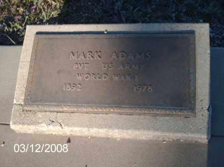 ADAMS, MARK - Gila County, Arizona | MARK ADAMS - Arizona Gravestone Photos