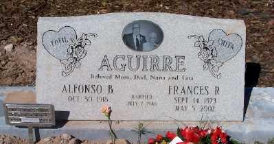 AGUIRRE, ALFONSO  B. - Gila County, Arizona | ALFONSO  B. AGUIRRE - Arizona Gravestone Photos