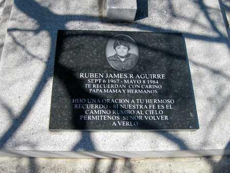 AGUIRRE, RUBAN JAMES  R. - Gila County, Arizona | RUBAN JAMES  R. AGUIRRE - Arizona Gravestone Photos