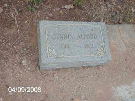 ALFORD, DENNIS - Gila County, Arizona | DENNIS ALFORD - Arizona Gravestone Photos