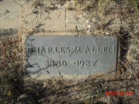 ALLEN, CHARLES M. - Gila County, Arizona | CHARLES M. ALLEN - Arizona Gravestone Photos