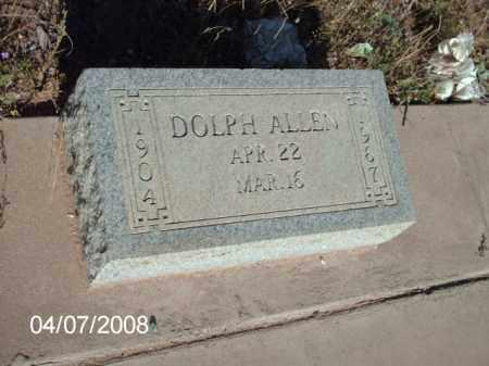 ALLEN, DOLPH - Gila County, Arizona | DOLPH ALLEN - Arizona Gravestone Photos