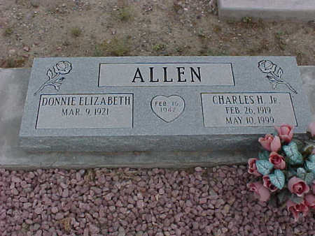 ALLEN, CHARLES H., JR. - Gila County, Arizona | CHARLES H., JR. ALLEN - Arizona Gravestone Photos