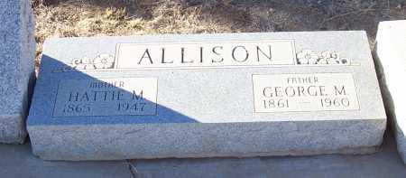 ALLISON, HATTIE M. - Gila County, Arizona | HATTIE M. ALLISON - Arizona Gravestone Photos