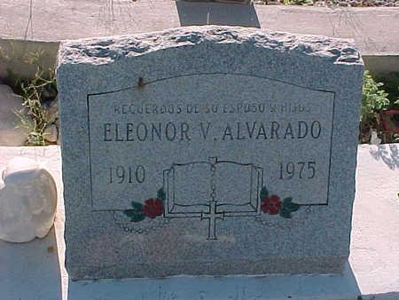 ALVARADO, ELEONOR  V. - Gila County, Arizona | ELEONOR  V. ALVARADO - Arizona Gravestone Photos