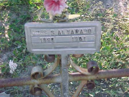 ALVARADO, LUIS  S. - Gila County, Arizona | LUIS  S. ALVARADO - Arizona Gravestone Photos