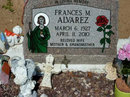 "ALVAREZ, FRANCES ""PANCHITA"" - Gila County, Arizona 