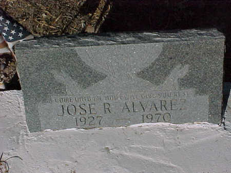 ALVAREZ, JOSE  R. - Gila County, Arizona | JOSE  R. ALVAREZ - Arizona Gravestone Photos