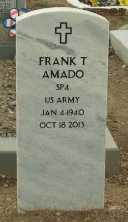 "AMADO, FRANK T. ""PANCHICO"" - Gila County, Arizona | FRANK T. ""PANCHICO"" AMADO - Arizona Gravestone Photos"