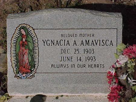 AMAVISCA, YGNACIA  A. - Gila County, Arizona | YGNACIA  A. AMAVISCA - Arizona Gravestone Photos