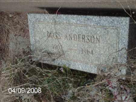 ANDERSON, BOSS - Gila County, Arizona   BOSS ANDERSON - Arizona Gravestone Photos