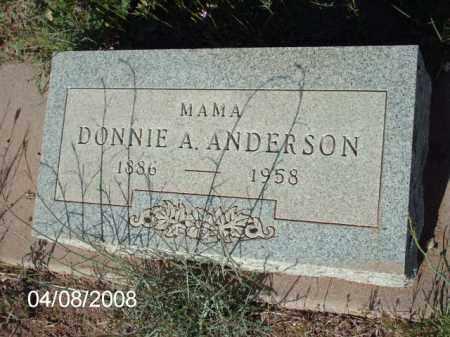 ANDERSON, DONNIE A. - Gila County, Arizona | DONNIE A. ANDERSON - Arizona Gravestone Photos