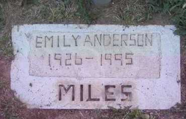 ANDERSON, EMILY - Gila County, Arizona | EMILY ANDERSON - Arizona Gravestone Photos
