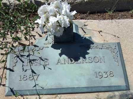 ANDERSON, FATE - Gila County, Arizona | FATE ANDERSON - Arizona Gravestone Photos