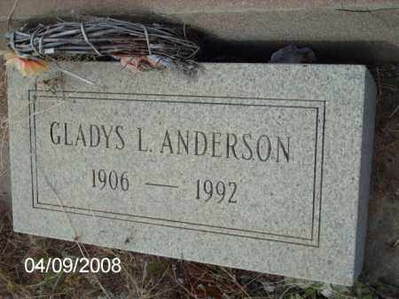 ANDERSON, GLADYS L. - Gila County, Arizona | GLADYS L. ANDERSON - Arizona Gravestone Photos