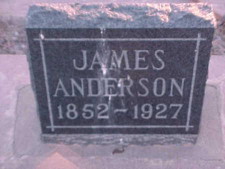 ANDERSON, JAMES - Gila County, Arizona | JAMES ANDERSON - Arizona Gravestone Photos