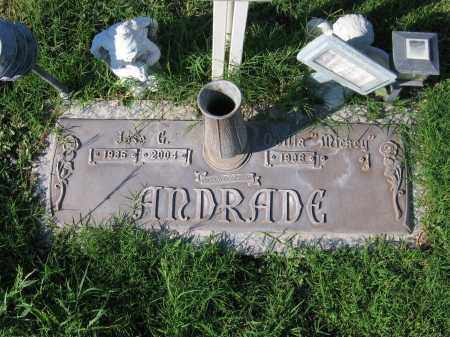 ANDRADE, JOSE G. - Gila County, Arizona | JOSE G. ANDRADE - Arizona Gravestone Photos