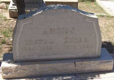 ANGIUS, KRSTO L. - Gila County, Arizona | KRSTO L. ANGIUS - Arizona Gravestone Photos