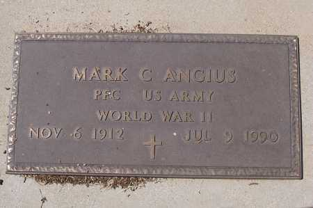 ANGIUS, MARK C. - Gila County, Arizona | MARK C. ANGIUS - Arizona Gravestone Photos